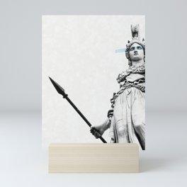 Athena the goddess of wisdom Mini Art Print