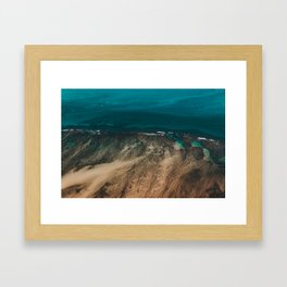 Hawaiian Sea Framed Art Print