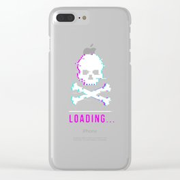 Dead Reaper pension sarcasm funny gift Clear iPhone Case