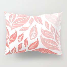 LIVING CORAL LEAVES 3 Pillow Sham