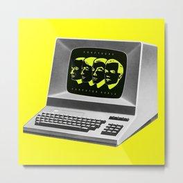 Kraftwerk - Computer World Metal Print
