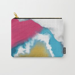 Abstract gold Carry-All Pouch