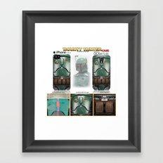 Bounty Hunter. Framed Art Print
