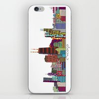 chicago iPhone & iPod Skins featuring Chicago  by bri.buckley