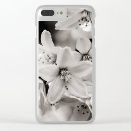 Little Whites ~ No.2 Clear iPhone Case