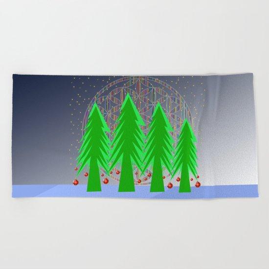 Christmas Dreamer | Christmas Spirit Beach Towel