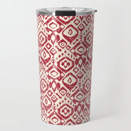 lezat red Travel Mug