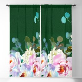 Flowers bouquet 102 Blackout Curtain