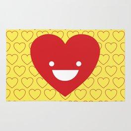 Happy Heart Rug