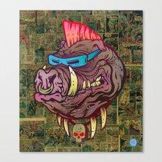 Mutant Hog Canvas Print