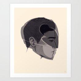 Black Art Print