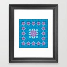 Asian ornament Framed Art Print