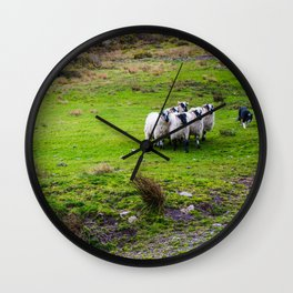 The Sheep Dogs Wall Clock