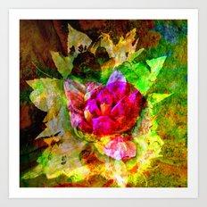 flower #  ### Art Print