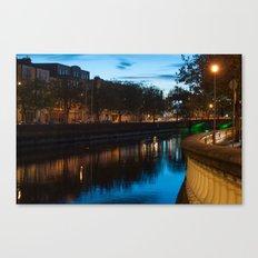 Dublin Fair City Canvas Print