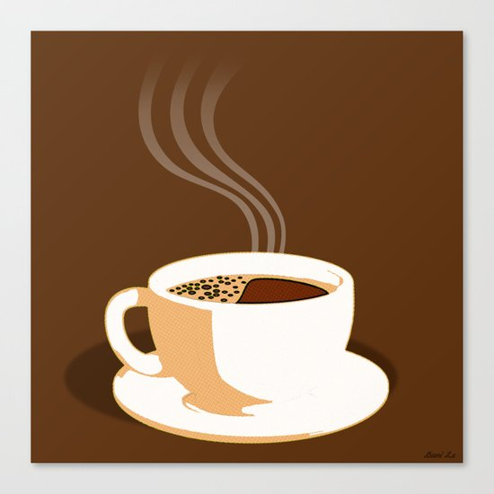 The Perfect Cup Of Coffee Canvas Print