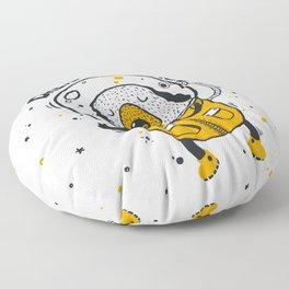 Dream in space Floor Pillow