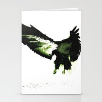 eagle Stationery Cards featuring Eagle by Yaroslav Greb