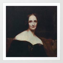 Mary Shelley Art Print