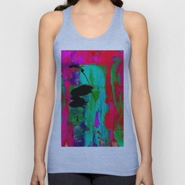Abstraction Wonder No.2l by Kathy Morton Stanion Unisex Tank Top