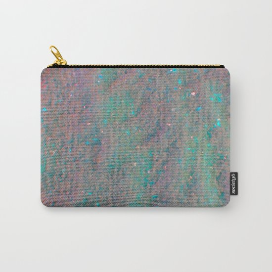 Pink and Blue Sand Carry-All Pouch