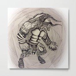 Minotaur Metal Print