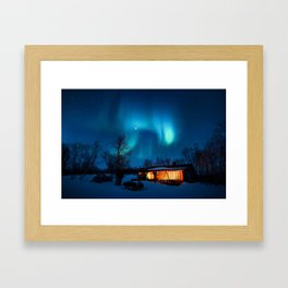 Aurora IV Framed Art Print