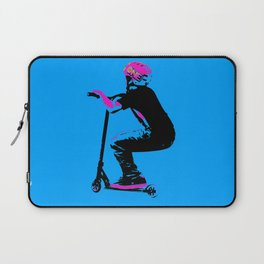 Scooter Cruiser - Scooter Boy Laptop Sleeve