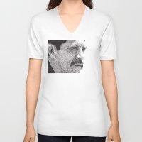 danny ivan V-neck T-shirts featuring Danny by Rik Reimert