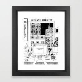 I Couldn't Help But Wonder... Framed Art Print