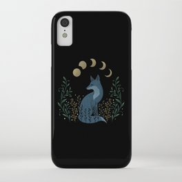 Fox on the Hill iPhone Case