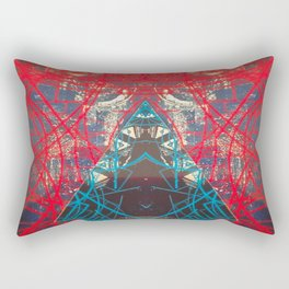FX#505 - Kryptonian Oblongated Lines Rectangular Pillow