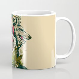 The Wolf Princess Coffee Mug