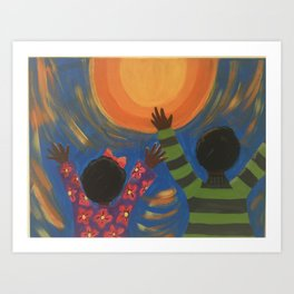 Praising The Son Art Print
