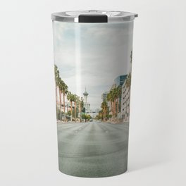 Alone in Las Vegas Travel Mug