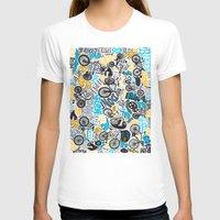 bikes T-shirts featuring Bikes pattern by Chris Piascik