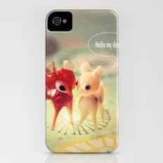 hello my deer Slim Case iPhone (4, 4s)