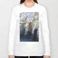 san diego Long Sleeve T-shirts featuring Cliffs of San Diego by Tdrisk46