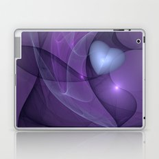 A lonely Heart Fractal Art Laptop & iPad Skin
