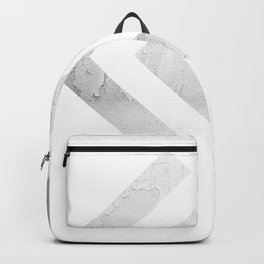 Away We Go in Silver Backpack