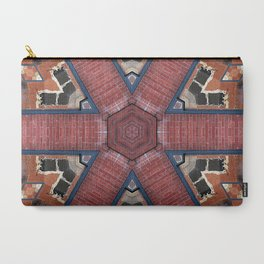 Red Brick Kaleidoscope Carry-All Pouch
