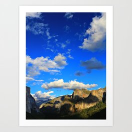 Tunnel View, Yosemite National Park, Fall 2013 Art Print