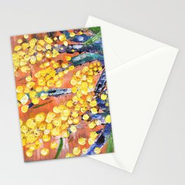 Rustic Wattle Stationery Cards
