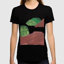 15      Mountain Watercolour Painting    190402 T-shirt