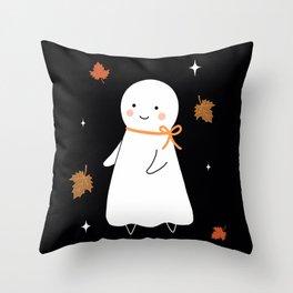 Juniper Ghost Throw Pillow