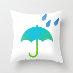 Shower Time Throw Pillow