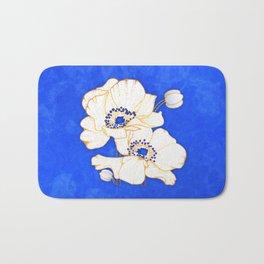 Ultramarine Blue :: Anemones Bath Mat