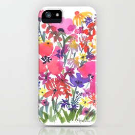Little Pink Poppies iPhone Case