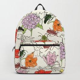 bugs -n- flowers Backpack