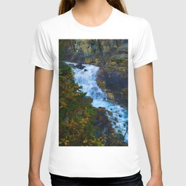 White Falls along the Berg Lake Trail in BC T-shirt